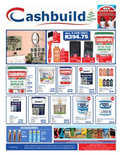 Cashbuild offers in the Cashbuild catalogue ( 3 days left)