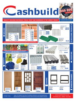 DIY & Garden offers in the Cashbuild catalogue ( 19 days left )