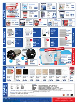 Ceiling boards specials in Cashbuild
