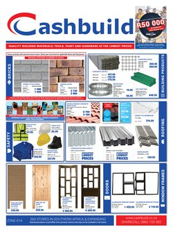 DIY & Garden offers in the Cashbuild catalogue in Johannesburg ( 2 days ago )