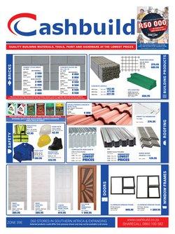 DIY & Garden offers in the Cashbuild catalogue in Port Elizabeth ( 2 days ago )
