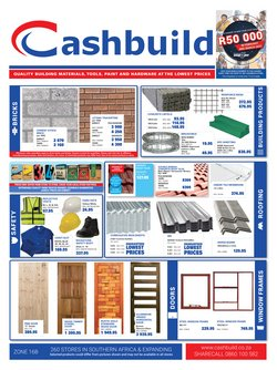DIY & Garden offers in the Cashbuild catalogue in Polokwane ( 23 days left )
