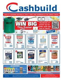 Cashbuild catalogue ( 16 days left )