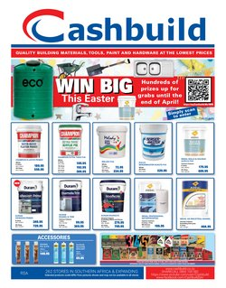Cashbuild offers in the Cashbuild catalogue ( Expired)