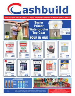 DIY & Garden offers in the Cashbuild catalogue ( 8 days left)