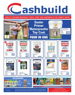 Cashbuild offers in the Cashbuild catalogue ( 8 days left)