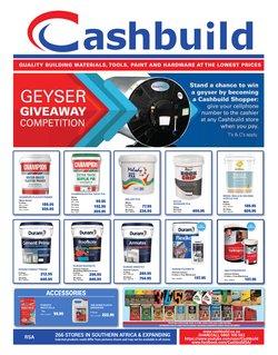 Cashbuild catalogue ( 20 days left)