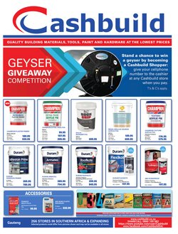 DIY & Garden offers in the Cashbuild catalogue ( 22 days left)