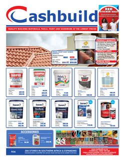 DIY & Garden offers in the Cashbuild catalogue ( 29 days left)