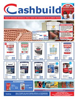 DIY & Garden offers in the Cashbuild catalogue ( 2 days left)