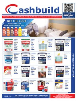 DIY & Garden offers in the Cashbuild catalogue ( 1 day ago)