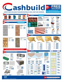 Bricks offers in the Cashbuild catalogue in Cape Town