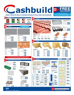 Flower offers in the Cashbuild catalogue in Cape Town