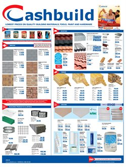 Tiles offers in the Cashbuild catalogue in Port Elizabeth