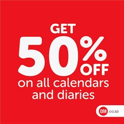 Books & stationery offers in the CNA catalogue in East London