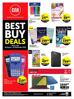 Books & Stationery offers in the CNA catalogue in Durban