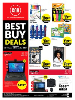 Books & Stationery offers in the CNA catalogue in Paarl