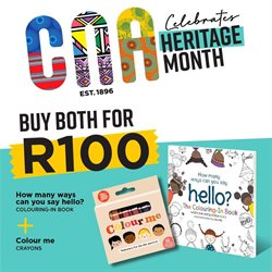 Books & Stationery offers in the CNA catalogue ( 12 days left )