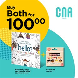 Books & Stationery offers in the CNA catalogue in Cape Town ( 15 days left )
