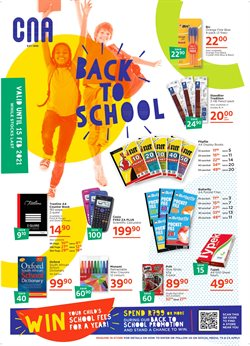Books & Stationery offers in the CNA catalogue in Cape Town ( 3 days left )