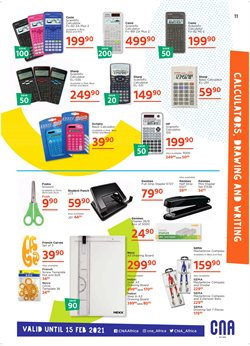 HP offers in the CNA catalogue ( More than a month)