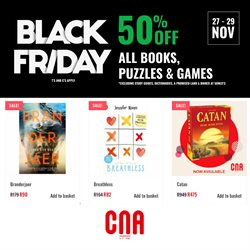Books & Stationery offers in the CNA catalogue in Cape Town ( Expires tomorrow )