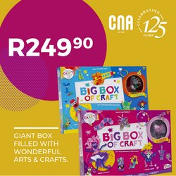Books & Stationery offers in the CNA catalogue ( 14 days left )
