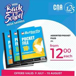 CNA catalogue ( 15 days left)