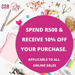 Books & Stationery offers in the CNA catalogue ( 8 days left)