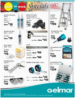 Tools specials in Gelmar