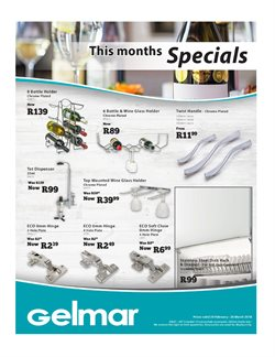 Gelmar deals in the Umhlanga Rocks special