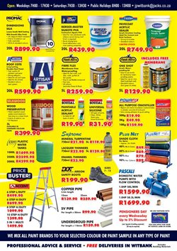 Cement offers in the Jack's Paint catalogue in Cape Town