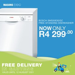 Bosch offers in the Masons catalogue ( 6 days left)