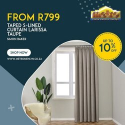 Metro Home Centre offers in the Metro Home Centre catalogue ( 7 days left)