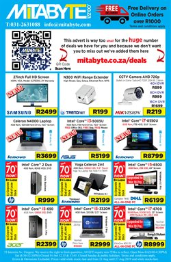 Mitabyte deals in the Durban special