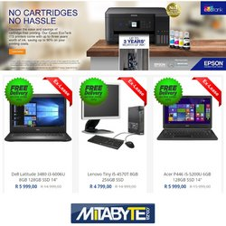 Electronics & Home Appliances offers in the Mitabyte catalogue ( 25 days left)