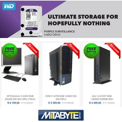 Mitabyte offers in the Mitabyte catalogue ( 15 days left)