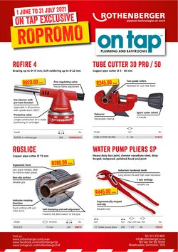 DIY & Garden offers in the ON TAP catalogue ( 6 days left)