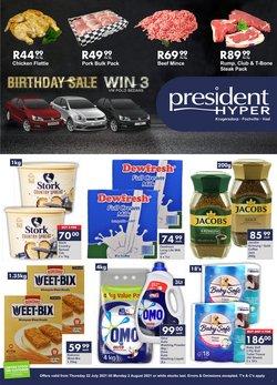 President Hyper offers in the President Hyper catalogue ( 8 days left)