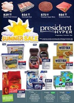 President Hyper offers in the President Hyper catalogue ( 3 days left)