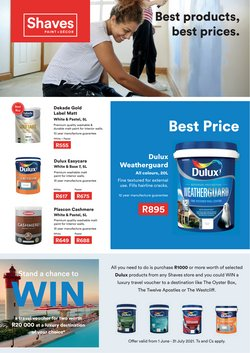 Home & Furniture offers in the Shaves Paint + Décor catalogue ( 15 days left)