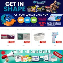 Beauty & Pharmacy offers in the Sparkport catalogue in Durban ( Expires tomorrow )