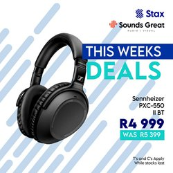 Stax offers in the Stax catalogue ( 5 days left)
