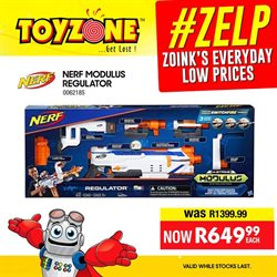 Toy Zone deals in the Johannesburg special