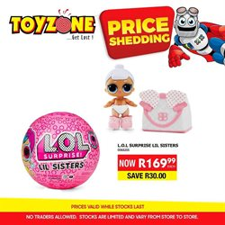 Babies, Kids & Toys offers in the Toy Zone catalogue in Soweto ( 28 days left )