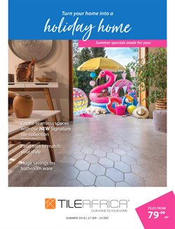 DIY & Garden offers in the Tile Africa catalogue in Johannesburg