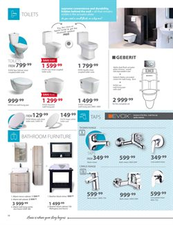 Toilets offers in the Tile Africa catalogue in Cape Town