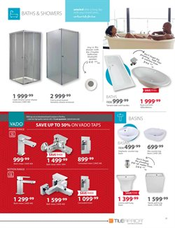 Doors offers in the Tile Africa catalogue in Cape Town