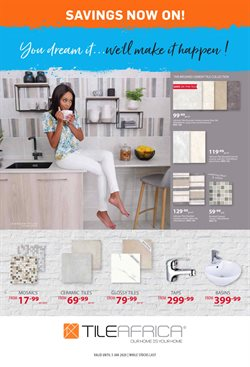 DIY & Garden offers in the Tile Africa catalogue in Durban