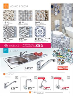 Tiles offers in the Tile Africa catalogue in Klerksdorp